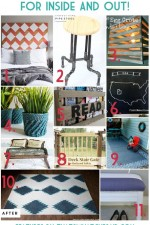 11 Home DIY Projects | Monday Funday Link Party