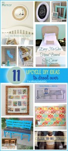 11 DIY Upcycle Ideas to drool over!