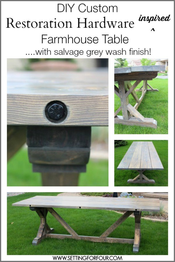 DIY-restoration-hardware-inspired-wood-farmhouse-table