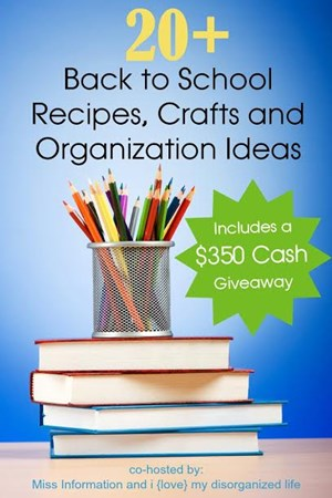 $350 Cash Back to School Giveaway