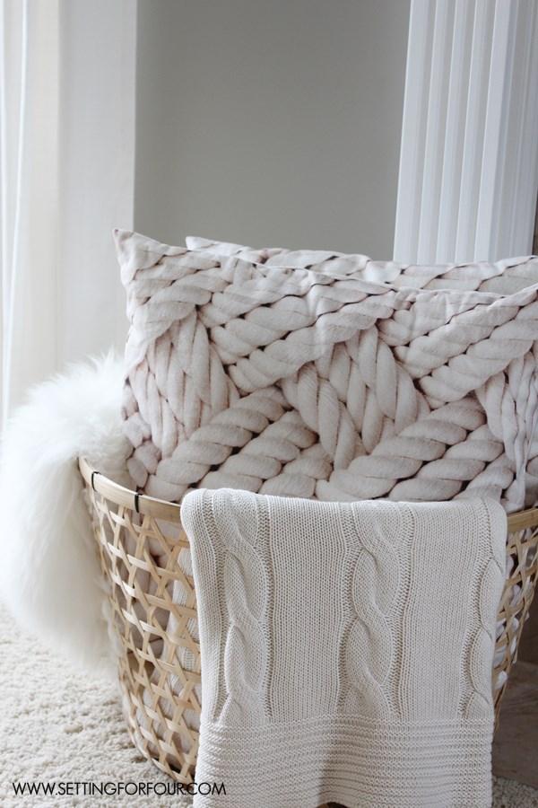 Living Room Makeover | www.settingforfour.com