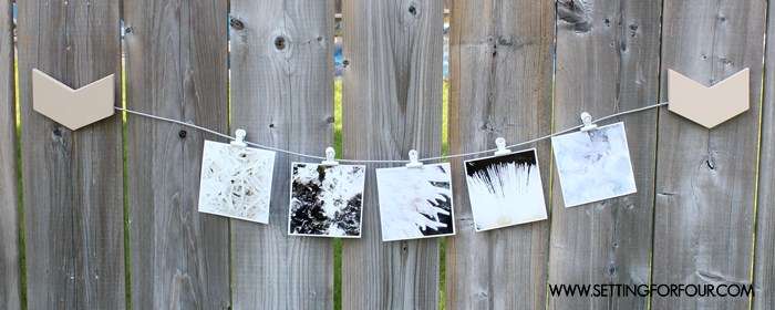 Instagram Gallery Wall idea. Hang your Instagram photos on this DIY Photo Holder!