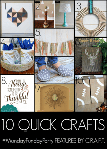 10 Quick Crafts To Decorate Your Home
