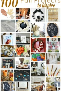 100 Fall Projects Ideas