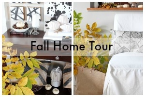Welcome to my Fall Home Tour! | www.settingforfour.com