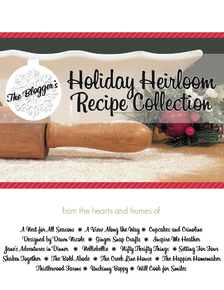 Free Holiday Recipe Ebook! Delicious family recipes for all of the holidays during the year! www.settingforfour.com