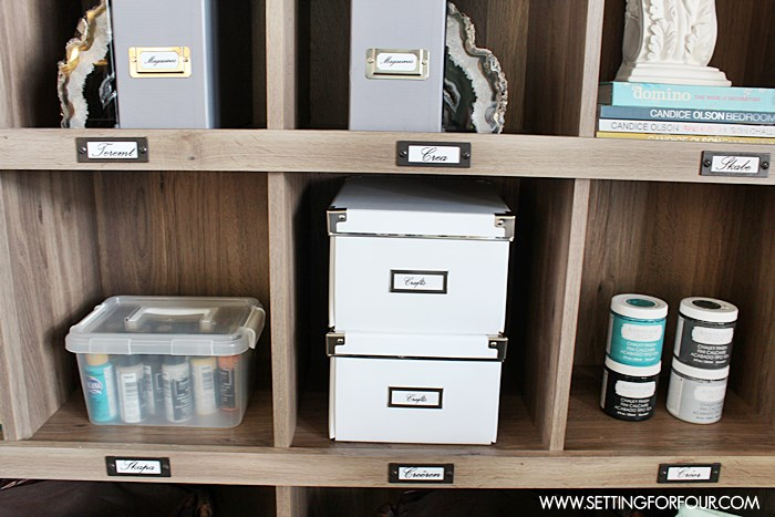 Repurposing Tip! 3 Ways to Use a Bookcase | www.settingforfour.com