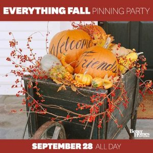Come follow the BHG 'Everything Fall' Pinboard for lots of Fall and Halloween DIY, craft and recipe ideas! | www.settingforfour.com