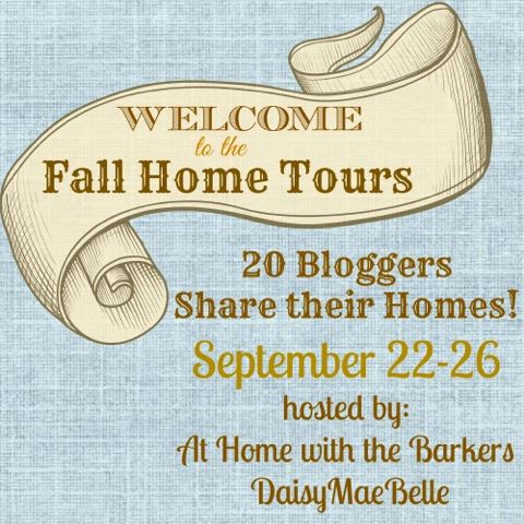 Welcome to Fall Home Tours of 20 bloggers! | www.settingforfour.com