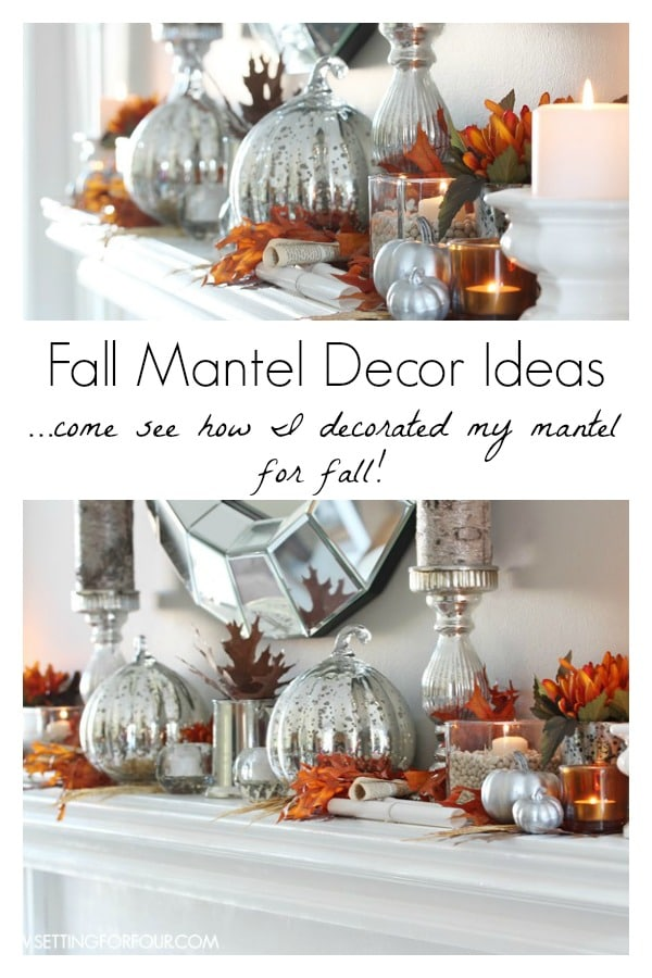 Glam Autumn Mantel