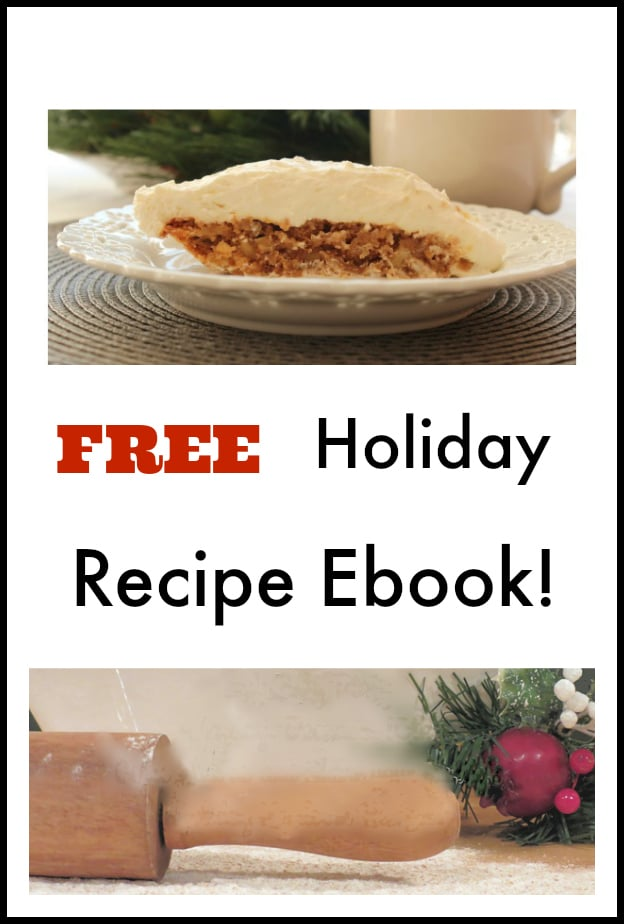 Free Holiday Recipe Ebook! Delicious recipes for all of the holidays during the year! | www.settingforfour.com
