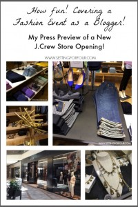 Special Press Preview of New JCrew Store Opening #jcrewrideau #ad | www.settingforfour.com