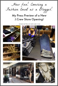Special Press Preview of New J.Crew Store Opening |#jcrewrideau