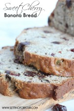 Sweet Cherry Banana Bread Recipe