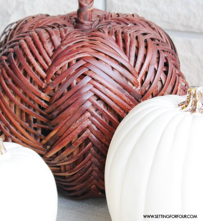 Pumpkin Decor and Fall Home Tour | www.settingforfour.com