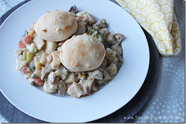 Country Chicken Pot Pie Recipe from Setting for Four