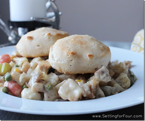 Recipe - Country Chicken Pot Pie from Setting for Four