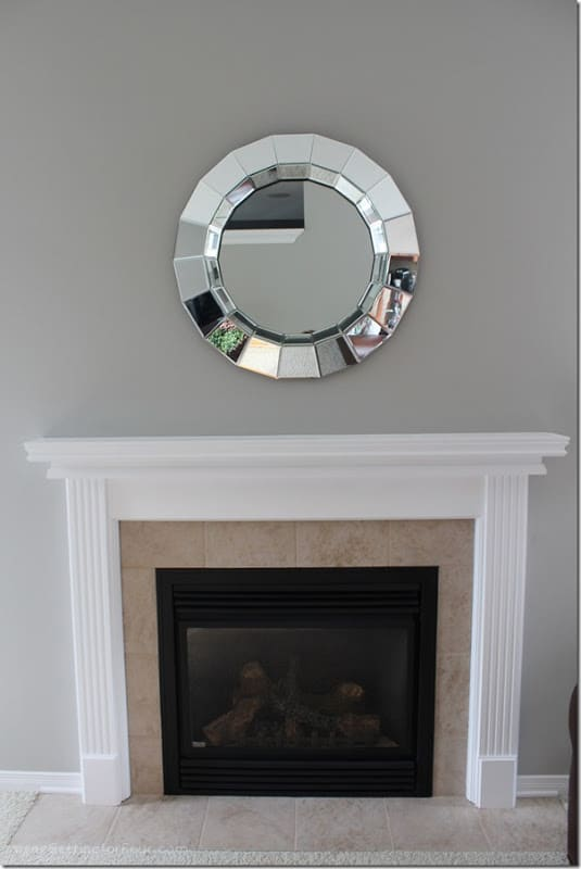 My Fireplace Mantel Reveal A Makeover With Paint