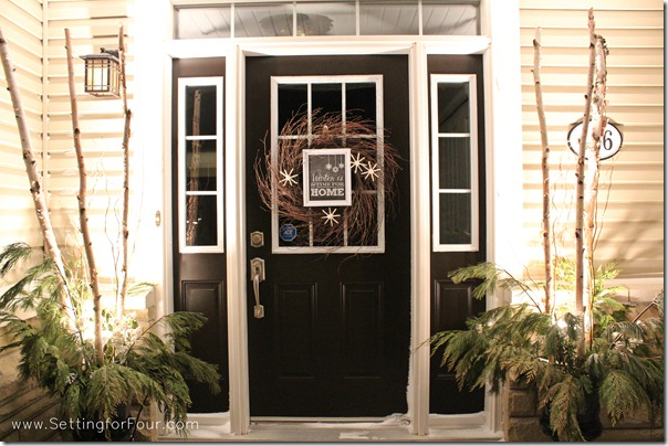 See the beautiful winter porch and entryway decor ideas for your home.