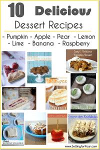 10 delicious dessert recipes to make NOW!