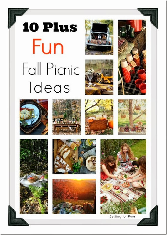 10 Plus Fun Fall Picnic Ideas