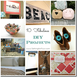 10 fabulous DIY Projects from Setting for Four