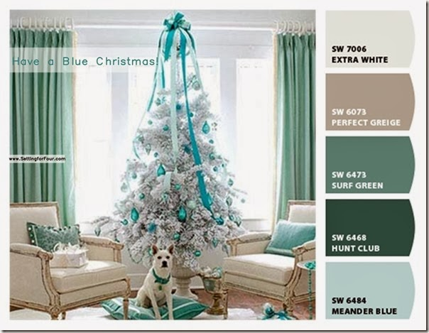 1400 wide Chip it turquoise Christmas tree