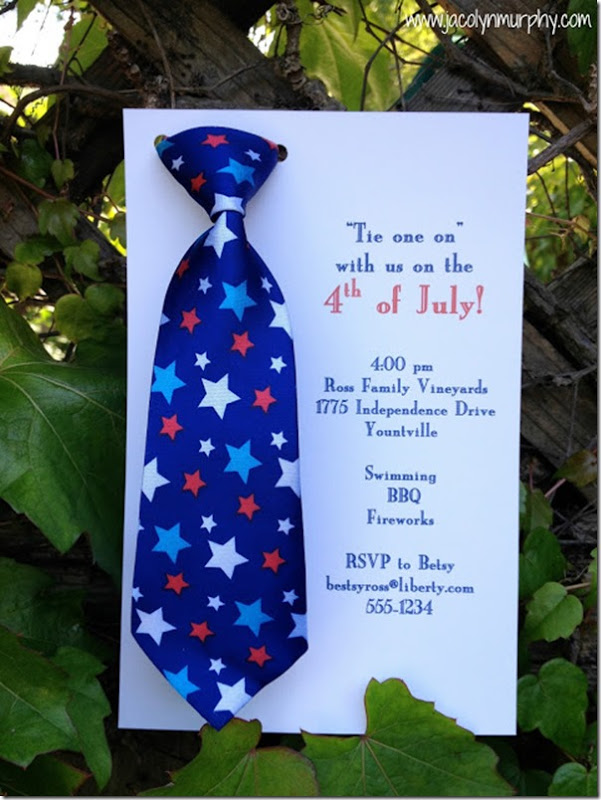 4th of july tie blue on fence jaclyn Murphy