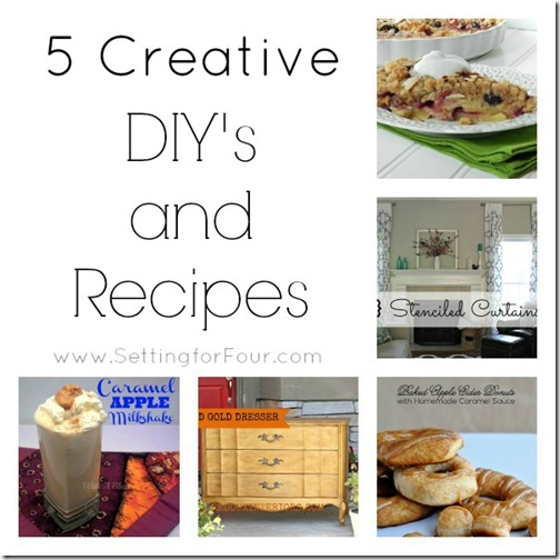 5 Creative DIY's and Recipes