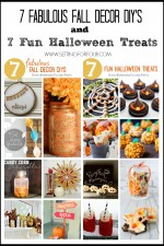 7 Fall DIY Decor Projects & Delicious Halloween Recipes