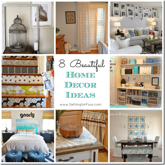 8 Beautiful Home Decor Ideas from Setting for Four