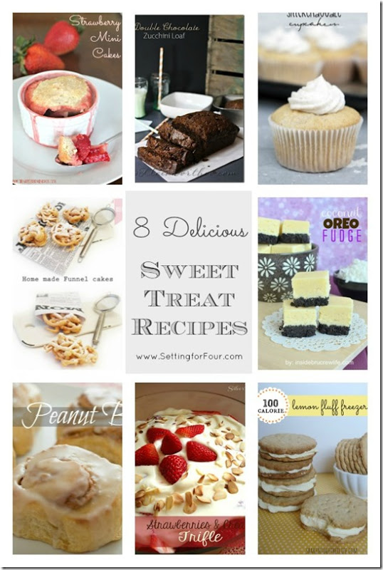 8 Delicious Sweet Treat Recipes from Setting for Four