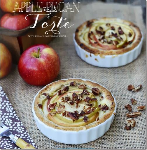 Apple Pecan Torte