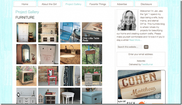 Catablog Word Press Plug in to reate easy Blog Project Galleries