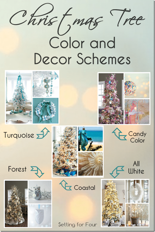 Christmas Tree Color and Decor Schemes