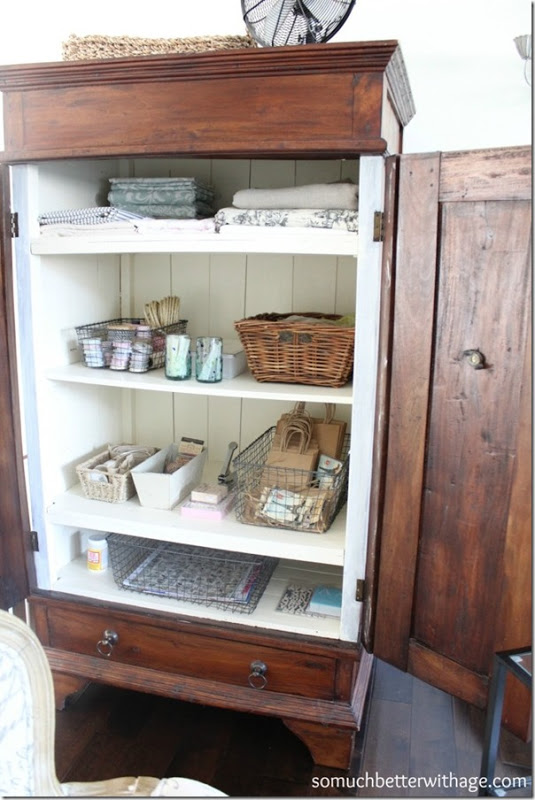 Craft Cabinet Makeover