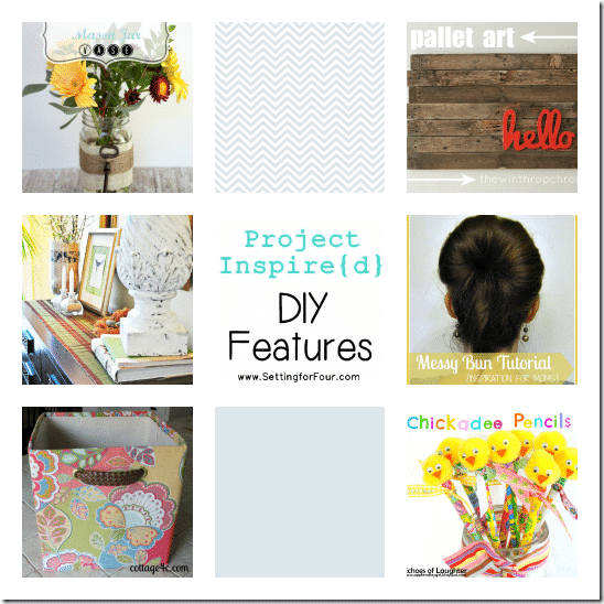 DIY Features from Setting for Four Project Inspired Linky Party