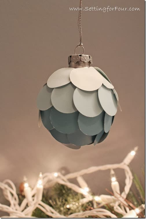 DIY Ombre Ornament to Make
