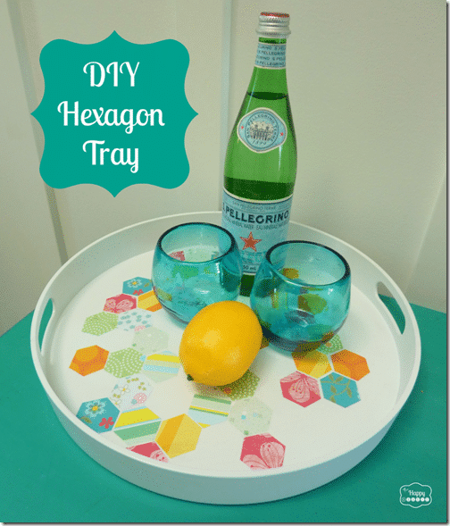 DIY-Hexagon-Tray-finished-at-thehappyhousie-873x1024