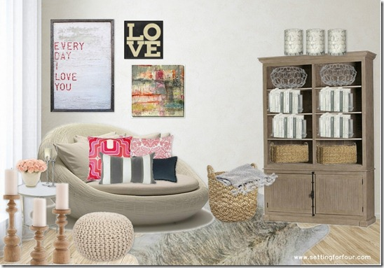 Design   Moodboard By Setting For Four. See The Details Here: Https:/