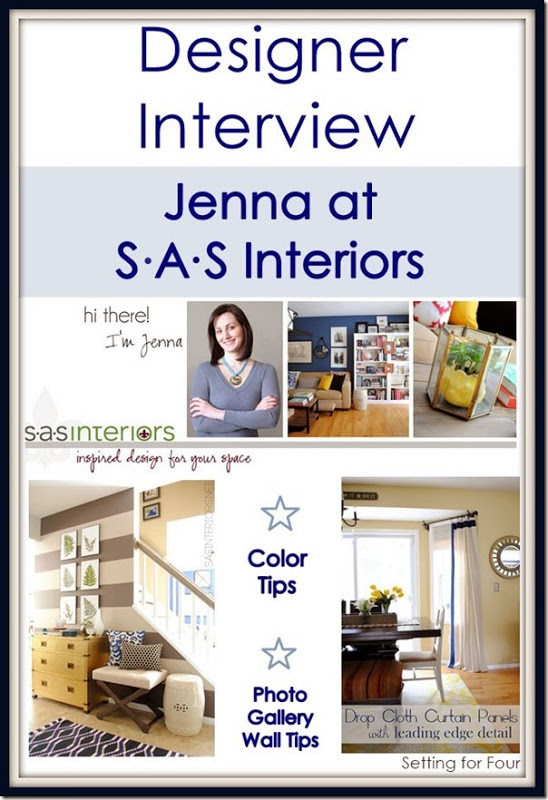 Designer Interview Jenna of SAS Interiors