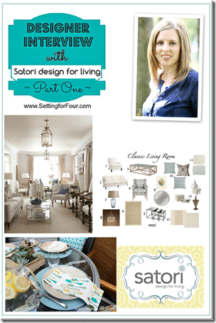 Designer Interview with Satori Design for Living Part One from Setting for Four