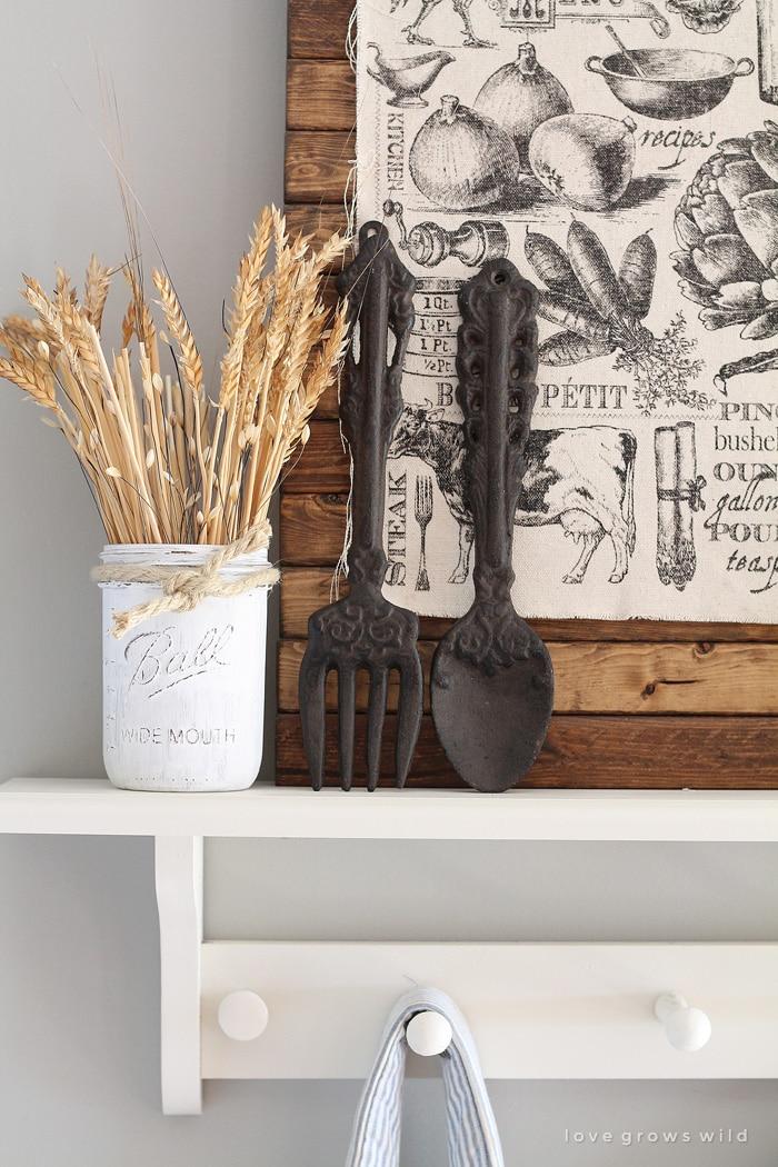 Fall Farmhouse Kitchen