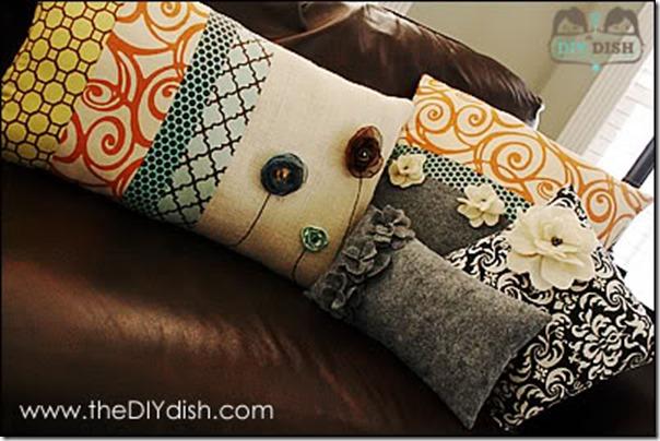 Felt Pillow DIY