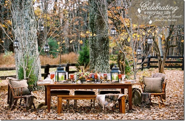HarvestTable2 & 10+ Fall Picnic Ideas: Beautiful \u0026 Inspiring! | Setting For 4