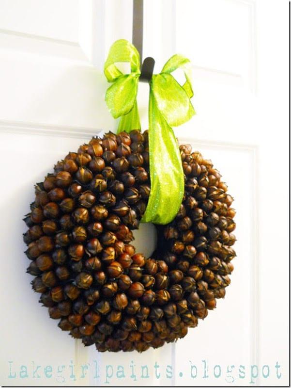 Hickory Nut Wreath