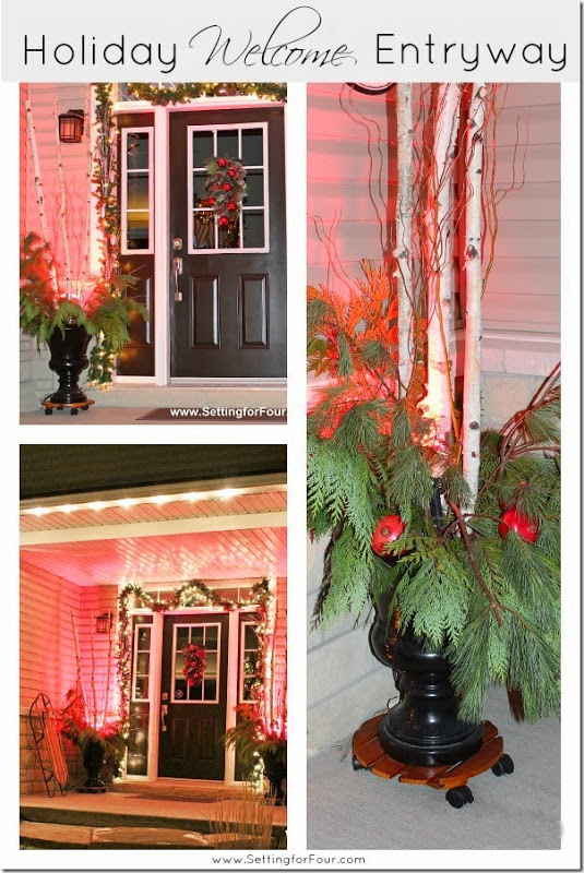 Holiday Welcome Entryway