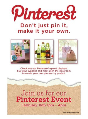 Michaels and Hometalk Pinterest Party Event