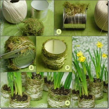Once Wed Moss Covered Can Centerpieces acf3f4e-11