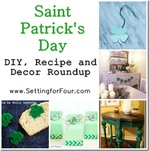 5 fun ways to celebrate St Patricks Day! DIY, Recipe and Decor Ideas